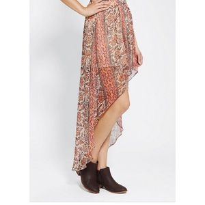 UO ECOTE HIGH LOW SKIRT